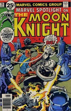 Marvel Spotlight on The Moon Knight | No. 29 | Aug | Marvel Comics Group