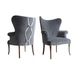 Mockingjay Wing Chair Pair