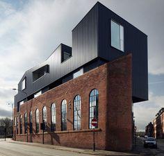 Industrial conversion  Shoreham Street - Sheffield, United Kingdom - 2012 - Project Orange