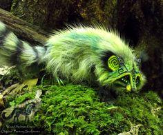 --SOLD--Hand Made Poseable Fantasy Raccoon! by Wood-Splitter-Lee.deviantart.com on @deviantART