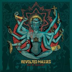 Technical / progressive death / thrash metal from Greece. Revolted Masses - Age of Descent (13.11.2015) review @ Murska-arviot