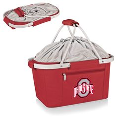 Short Description: The Metro Basket is a lightweight fully-collapsible, insulated basket that can be used for many occasions. It's made of durable 600D polyester canvas and features a water-resistant