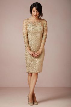 Marvelous Gold Mother Of The Bride Dress Part 8 - Mother Of The Bride Sheath Dresses