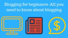 Blogging for beginners- Every digital marketer and website owner knows how important blogging is. No matter if you own an affiliate marketing website, company or organization regular blogging is needed to provide the readers with fresh content which will not just keep the readers engaged, but it will also bring you more readers from search engines or social media shares.   #advantages of Blogging #blog #Blogging #Blogging for Beginners #Blogging for money #Blogging sites #B