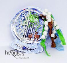Mój mały świat: Inspiracja dla Heartfelt Creations Heartfelt Creations, Snow Globes, Album, Card Book