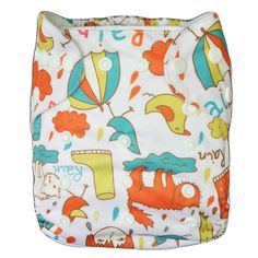 Alva Reusable Washable Waterproof Baby Cloth Diaper One Size Nappy +1 Insert YA7 #ALVA