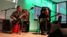 Good Grooves @Bass Day! #bass #music #thomann