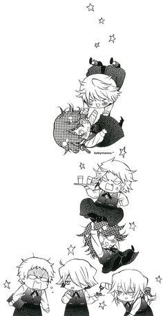 Anime Couples Manga, Cute Anime Couples, Manga Anime, Anime Art, Manga Girl, Anime Girls, Pandora Hearts Gilbert, Pandora Hearts Oz, Pandora Bracelets