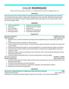 7 best Perfect Resume Examples images on Pinterest | Sample resume ...