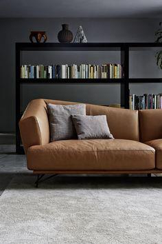 Sofa Set Designs, Sofa Design, Sofa Furniture, Furniture Design, Comfortable Sofa, Living Room Inspiration, Leather Sofa, Interior Design Living Room, Decoration
