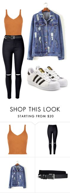 """Look Cool"" by kekeu-braz on Polyvore featuring Arcade e adidas Originals"
