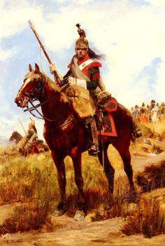 Detaille Jean Baptiste Edouard Artilleur A Cheval Jean Baptiste Edouard Detaille (1847 1912)