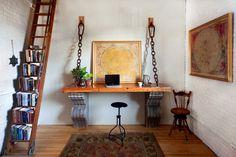 Landscape Loft Photos eclectic home office