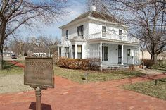 President Eishenhower's boyhood home at presidential library Abilene, KS