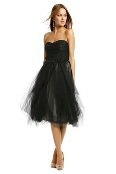 Robert Rodriguez Black Label Avril Dress.  Love it!  Not too poofy