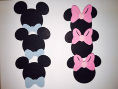 Disney Gender Reveal Pins Party Pins Baby Shower by Chickedoll