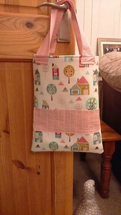 Girlie Pink Crayon Tote Bag