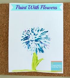 6 Ways for Kids to Get Creative with Real Flowers
