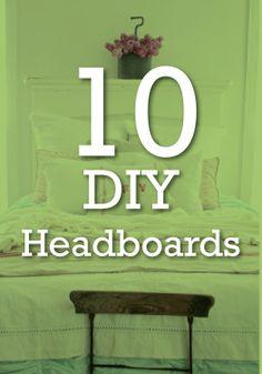 Easily create the headboard of your dreams with fun DIY ideas.