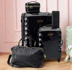 Luggage Sets Cute, Teen Luggage, Travel Luggage, Luggage Bags, Travel Bags, Cute Suitcases, Vintage Suitcases, Vintage Luggage, Hard Sided Luggage