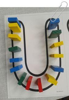 Travailler le prénom en maternelle { Activités pour enfants } Letter Activities, Pre Writing, Montessori, Initials, Kindergarten, Phrases, Centre, Alphabet, Learning