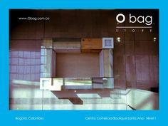 Encuéntranos en el Centro Comercial Boutique Santa Ana Nivel 1 (Bogotá, Colombia )  www.Obag.com.co