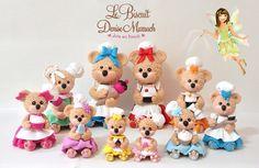 Ursinhas Confeiteiras modeladas à mão por Le Biscuit Denise Marrach Whatsapp: 19-99763-9570 denisemarrach@hotmail.com