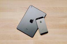 iPad mini and iPhone 5S.