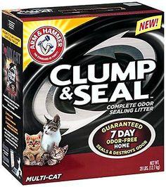 Odor Clumping Cat Litter