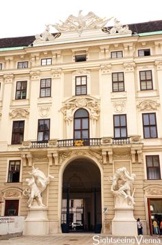Hofburg Palace, Imperial Chancellory Wing, Vienna