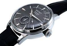 'Seiko Omen Power Reserve Dark Grey Cocktail Time Espresso Martini SSA345J1: Amazon.de: Uhren