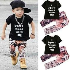 It is really cute just don't wear it to a zoo! ROAR It can go on boys and girls