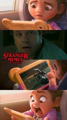 Memes de Stranger Things- - New Ideas Stranger Things Netflix, Stranger Things Quote, Stranger Things Actors, Stranger Things Have Happened, Stranger Things Aesthetic, Stranger Things Season, Starnger Things, Saints Memes, Stranger Danger