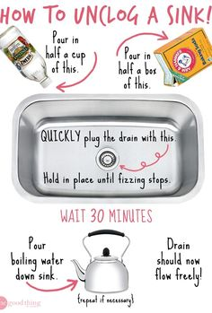 How To Unclog A Sink Without Chemicals