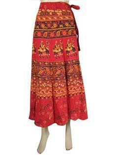 Indian Wrap Around Skirt Indie Hippie Red Print Bohemian Cotton Wrap Skirt Mogul Interior,http://www.amazon.com/dp/B00CERI1PS/ref=cm_sw_r_pi_dp_2HaCrb222EF94EA9