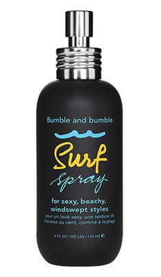 Bumble and bumble Surf Spray: Salt-infused for sexy, windswept, beachy texture (whenever, wherever)