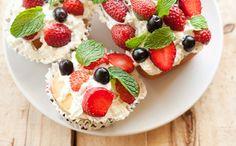 Put Those Fresh Berries to Good Use on Lemon Pound Cake via Brit + Co.