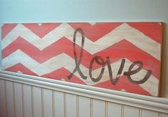 DIY art for your bedroom! You can pick the color you want to match your room! <3