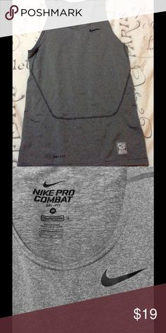 Nike men's core 2.0 sleeveless compression shirt Never used without tag. Nike Shirts Tank Tops