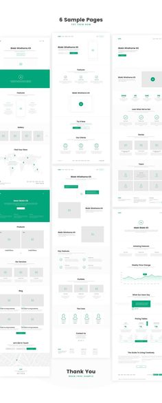 Blokk Wireframe Kit 170+ Screens by RobertMayer | ThemeForest. If you like UX, design, or design thinking, check out theuxblog.com