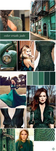 Color Crush:  Jubilant Jade