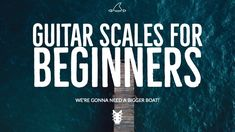 Guitar Scales for beginners. 10 Essential scales for beginning guitarists including a free PDF mini-book guitar lesson in TAB and standard notation. Beginner Guitar Scales, Guitar Chords Beginner Songs, Guitar Scales Charts, Guitar Chords And Scales, Guitar Songs For Beginners, Guitar Chords And Lyrics, Guitar Strumming, Basic Guitar Lessons, Guitar Chord Progressions
