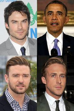 Homens famosos e feministas assumidos! - Eles são homens, celebridades e... feministas!