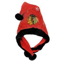NHL Chicago Blackhawks Thematic Santa Hat by Forever Collectibles. $4.94. Chicago Blackhakws Santa Hat. Save 79%!