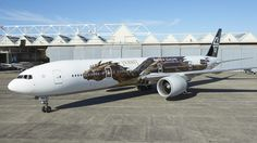 All Nippon Airways lackiert Star-Wars-Flieger
