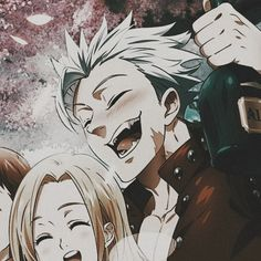 Ban E Elaine, Manga Anime, Anime Art, Blue Exorcist Anime, Seven Deadly Sins Anime, Retro Art, Anime Shows, Attack On Titan, Fnaf
