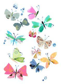 Pope Twins - PTwins - inky butterflies.jpg