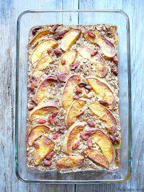 Delicious blog: Pečená ovesná kaše Dessert Recipes, Desserts, Ham, Sausage, Pork, Food And Drink, Low Carb, Healthy Recipes, Chicken