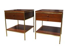 Machine Age | Pair of Night Stands by Paul McCobb for Calvin