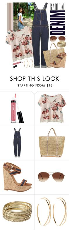 """I'm Over The Overalls"" by sweet-jolly-looks ❤ liked on Polyvore featuring Alima, Bare Escentuals, Topshop, Vanessa Bruno Athé, Dsquared2, Eloquii, Steve Madden, Lana and overalls"